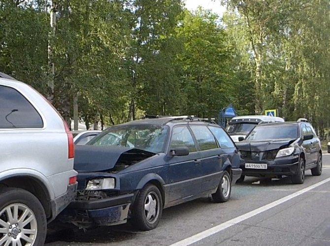 ДТП в городе Кировск