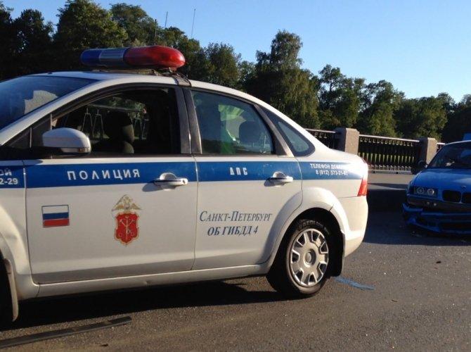 ДТП на Приморском проспекте с BMW 3 COUPE