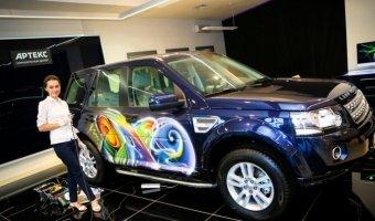 Искусство открытий в АРТЕКС - компания АРТЕКС представила обновленный дилерский центр Jaguar Land Rover на 60 км МКАД