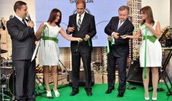 В Петербурге на улице Руставели прошло официальное открытие нового дилерского центра ŠKODA «Авто Премиум»