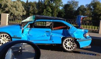 Страшное ДТП с автомобилем BMW 3 COUPE на Савушкина