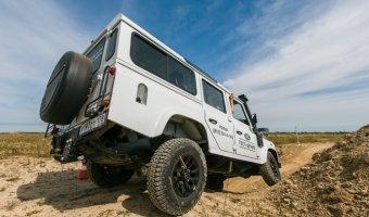 День Jaguar Land Rover от РОЛЬФ в стиле ралли.