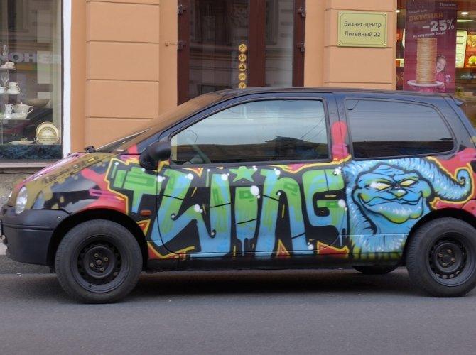 Внешний Тюнинг Renault Twingo