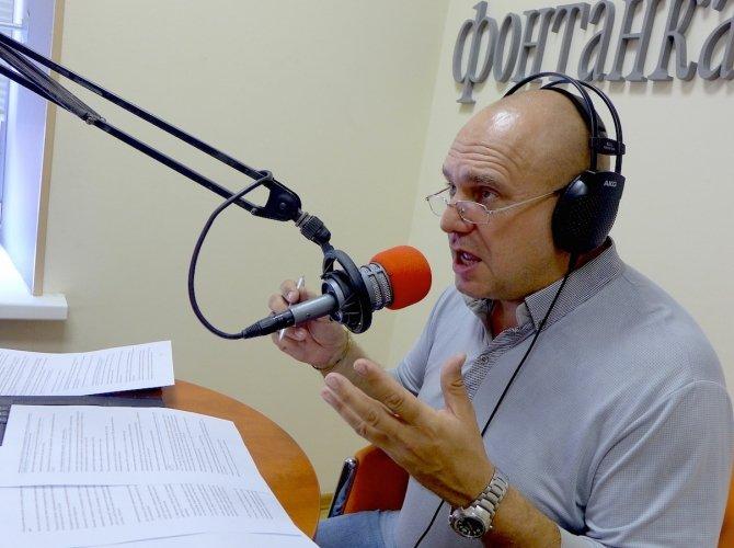 Дмитрий Попов в программе AirBag на Фонтанка ФМ
