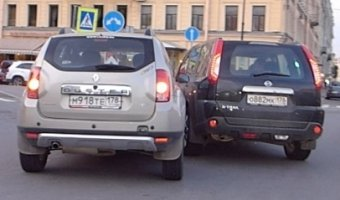 ДТП на площади Ломоносова