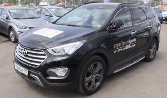 Hyundai Grand Santa Fe - модель 2014 года, видеообзор автомобиля