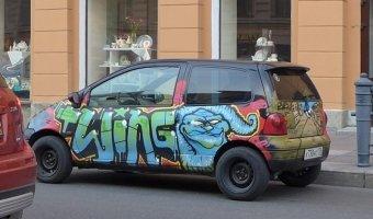 Renault Twingo - тюнинг в стиле