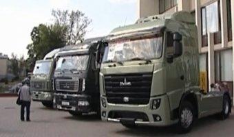 Минский автозавод представил супер-новый грузовой тягач с стандартами ЕВРО-6