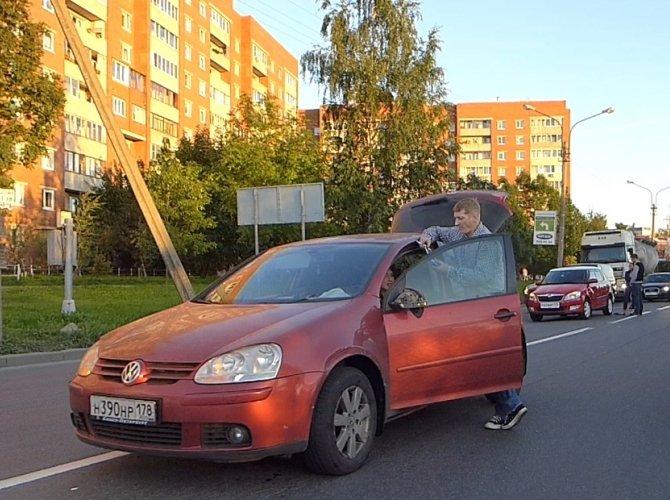 ДТП на Планерной улице