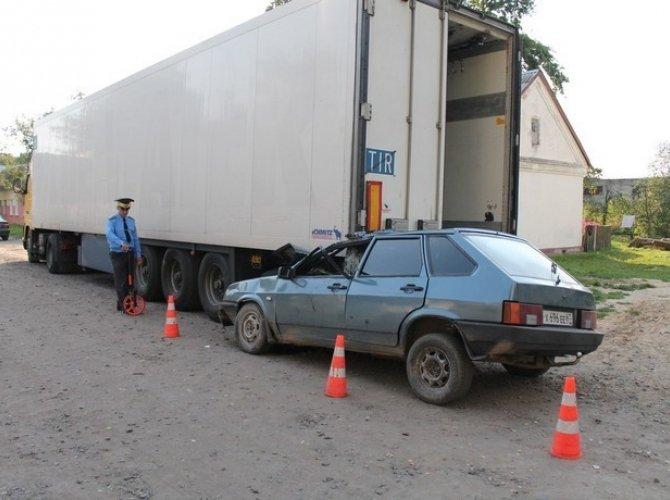 ДТП - наезд на стоящее транспортное средство
