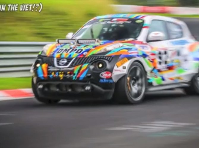 Nissan Juke Nürburgring