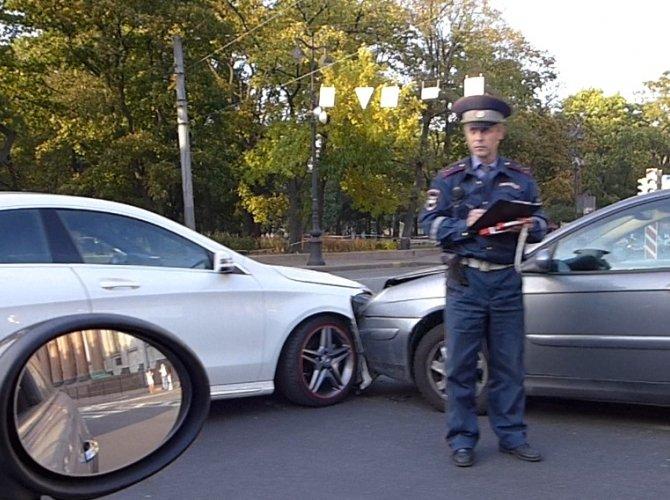 ДТП на Исаакиевской площади
