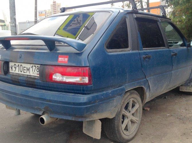 Внешний тюнинг автомобиля МосквичIMG_3617.jpeg