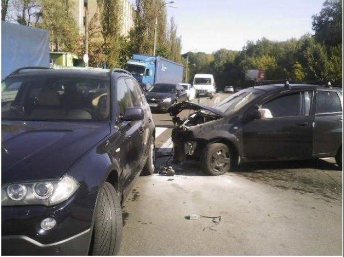 Массовая авария в Киеве