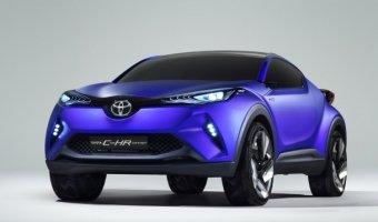 Первые изображения Toyota C-HR с гибридным приводом – прототип субкомпактного кроссовера Toyota