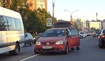 ДТП с тремя легковыми автомобилями на Планерной улице