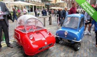 Запущено производство самых маленьких в мире серийных автомобилей