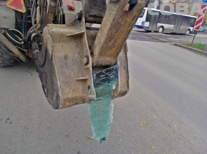 ДТП в Екатеринбурге с трактором
