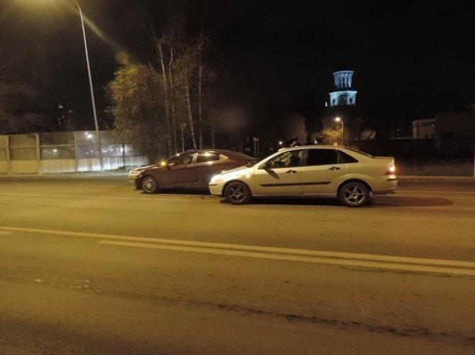 ДТП на дороге на Токсово
