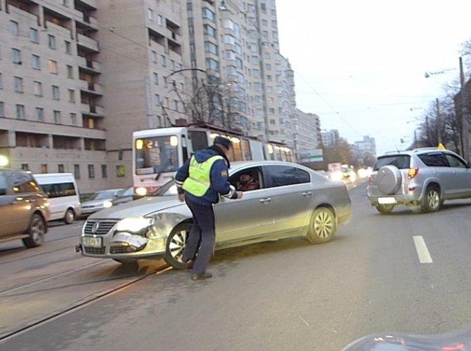 ДТП на Торжковской улице