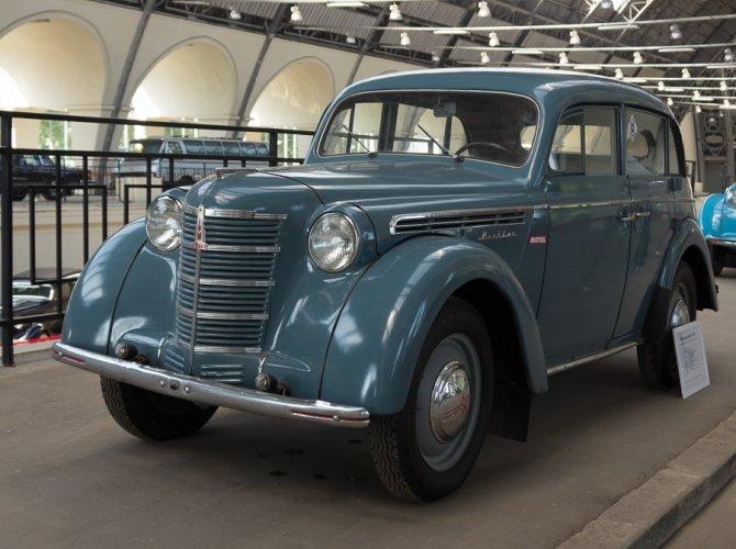 Советские ретро автомобили