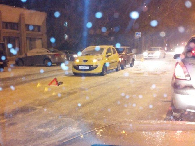 Снежные аварии