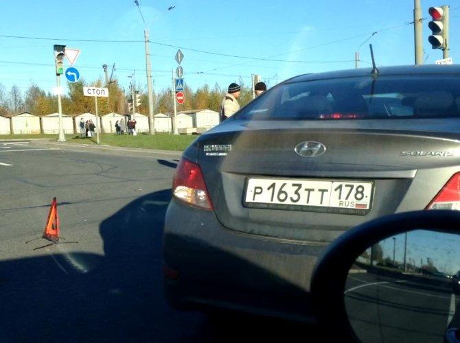 ДТП на Суздальском проспекте
