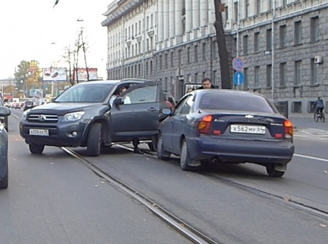 ДТП на Ушаковской развязке