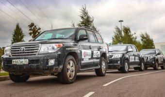 Внедорожники Toyota без поломок проехали 22000 километров рамках экспедиции «Россия»