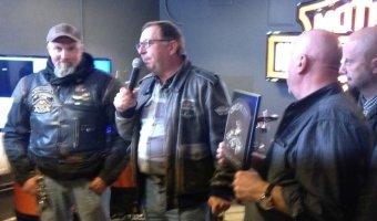 Байкеры петербургского чаптера Harley Davidson весело отметили закрытие мото-сезона в тесном кругу