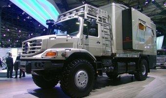 Грузовики будущего на выставке в Ганновере - какими будут тягачи и фургоны через несколько лет.