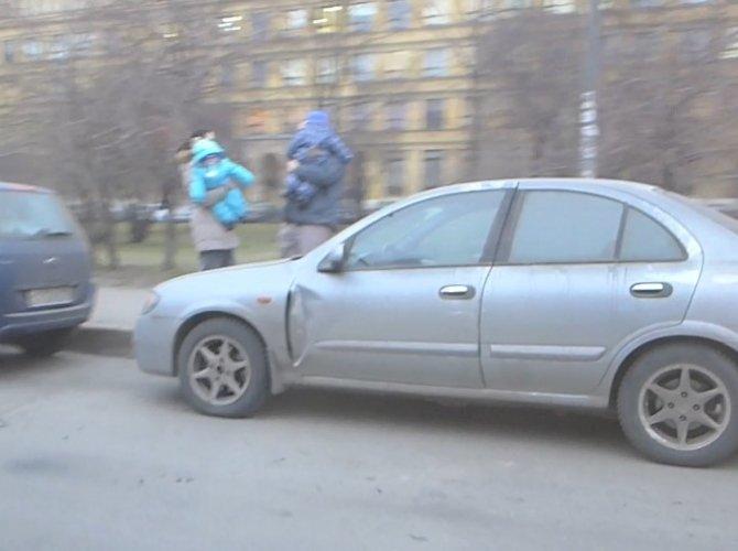 ДТП и драка на Торжковской улице