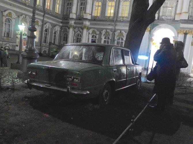 Жигули в Зимнем Дворце