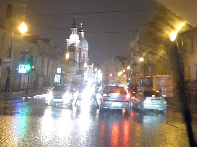 ДТП на улице Пестеля