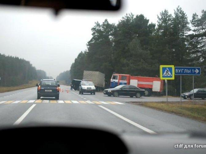 ДТП на трассе в Белоруссии