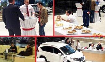Гости «Хонда Отрадное» поймали удачу - компания  благодарит всех за участие!