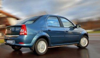 Старый Renault Logan не сдается