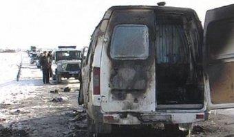 Кабардино-Балкария: легковушка врезалась в микроавтобус, есть жертвы