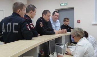 Нижнекамские инспекторы ГИБДД сдали кровь для пострадавших в дорожных авариях