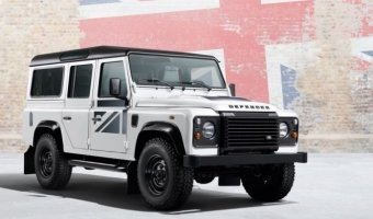 Land Rover Defender Union Flag
