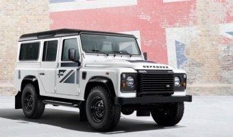 Лимитированная серия новых внедорожников Land Rover Defender Union Flag в АРТЕКС