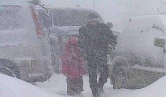 На дорогаях Хабаровского края чрезвычайная ситуация