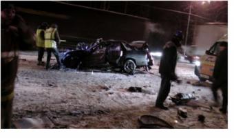 В Тверской области на трассе М-10 погибли пять человек