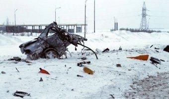 На трассе М7 в Татарстане на части разорвало
