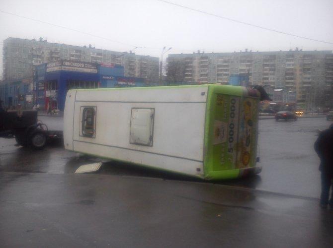 ДТП на проспекте Ударников