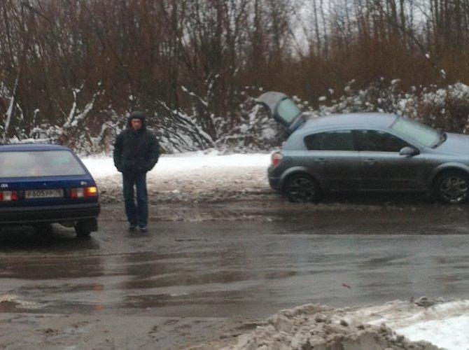 ДТП на улице Тамасова