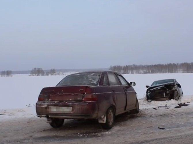 ДТП на трассе Екатеринбург - Курган