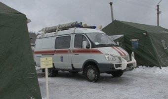 На трассах России устанавливаются пункты обогрева и питания