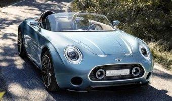 Возвращение харизмы - концептуальный кабриолет Mini Superleggera.