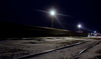 В Казани столкнулись легковушка и поезд